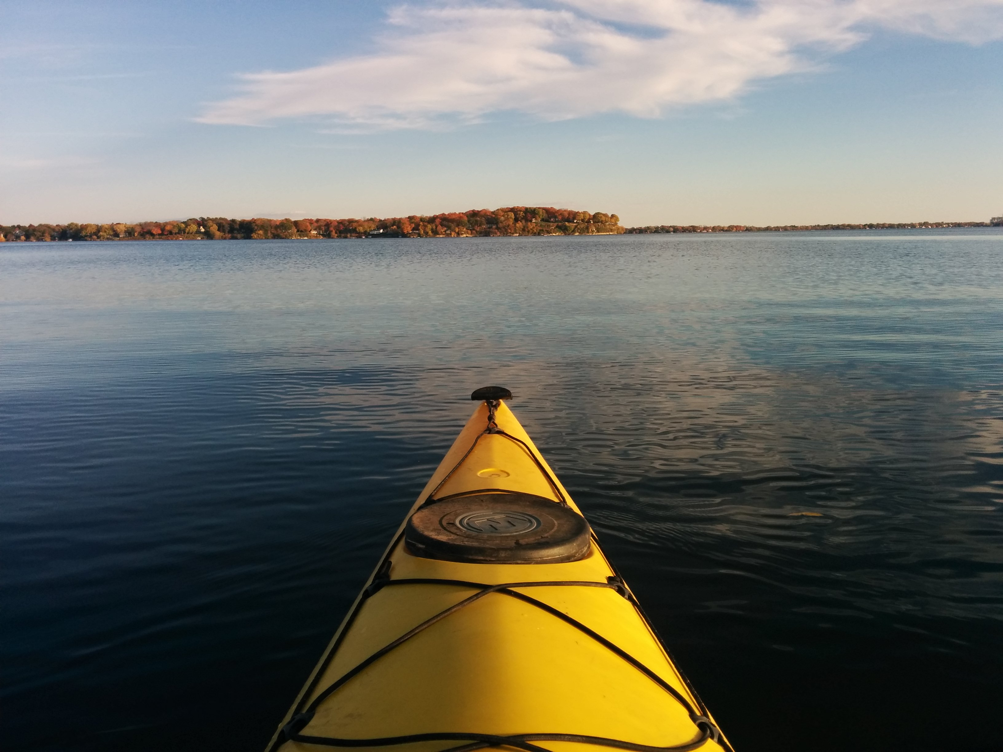 kayaking mendota